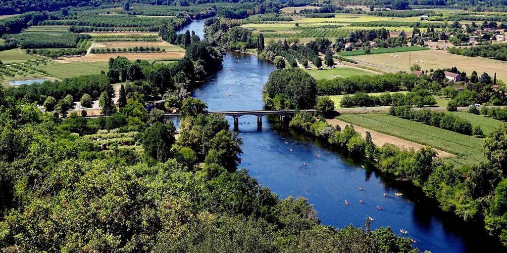 Dordogne rivier