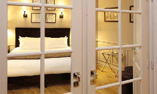 Romantische hotels in parijs