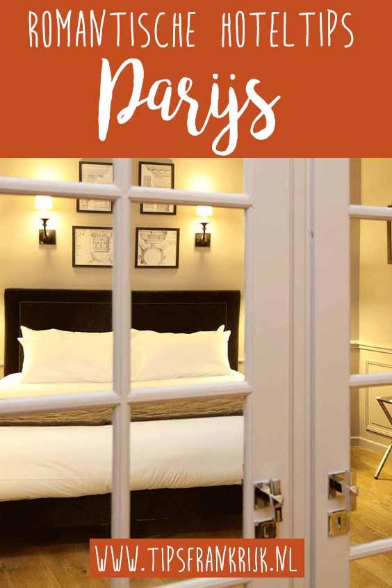 Romantische hoteltips parijs