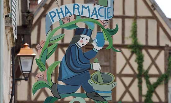 Pharmacie Frankrijk