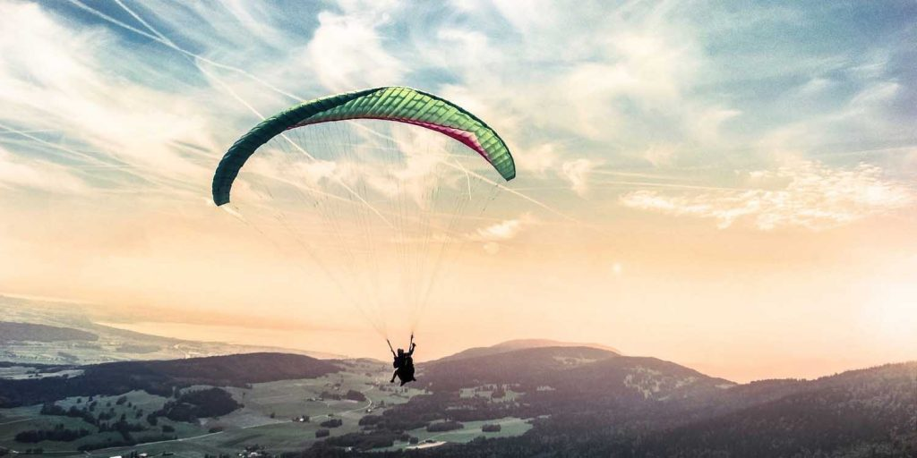 paragliding isere