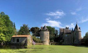 Château de la Preuille, uniek vakantieverblijf in de Vendée